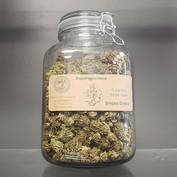 """15 6% CBD Flower """"Suver Haze"""""""
