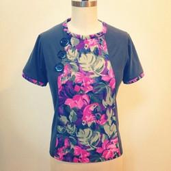 mod_triangle_top_jungle_floral_seattle_fashion_designer