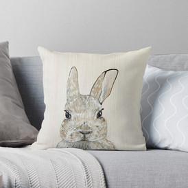 Hop Along Throw Pillow