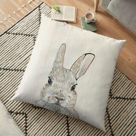 Hop Along Floor Pillow