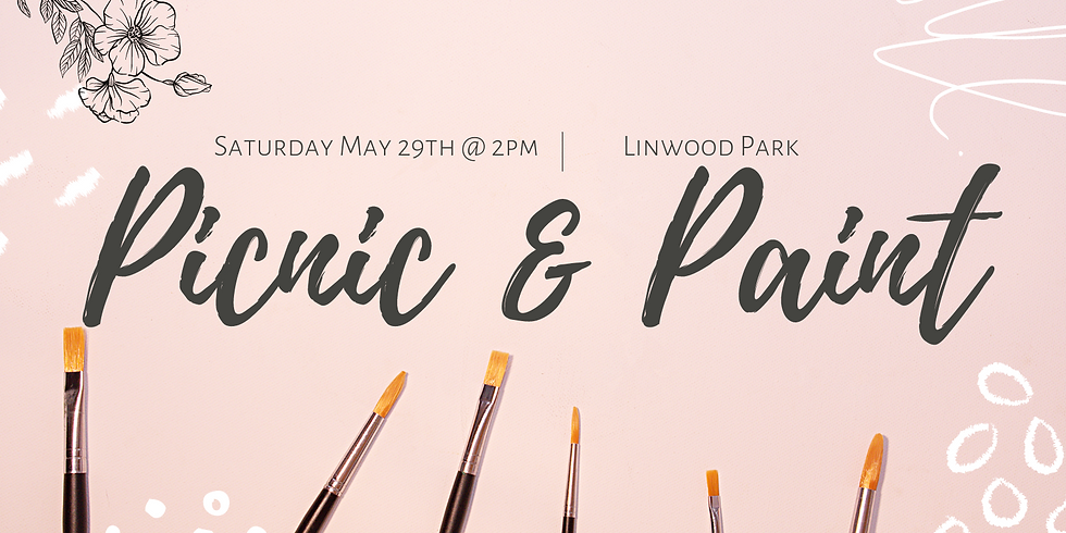 Picnic & Paint Public Event  Saturday May 29th 2pm