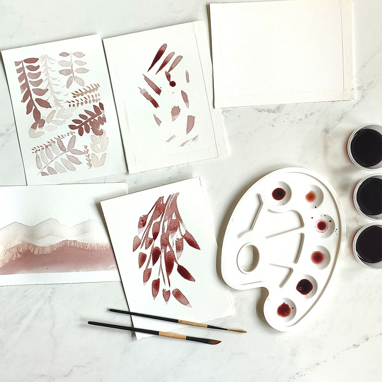 Paint with Wine