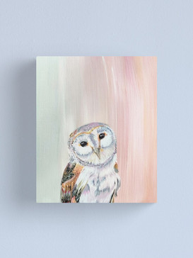 Sweet Little Wise Guy Canvas Print