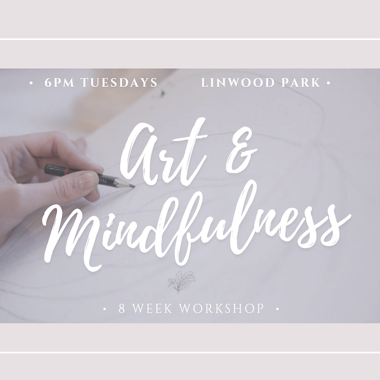 Art & Mindfulness Workshop  from June 8th-July 27th