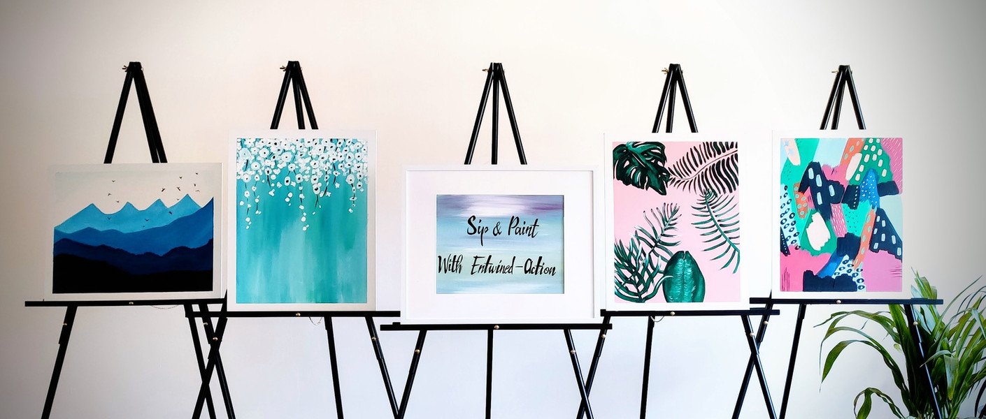 A new twist on Sip & Paint