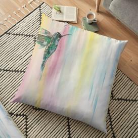 Bird Series Floor Pillow