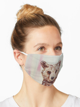 Be Brave Baby Bear Mask
