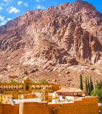 מסע להר משה, וסנטה קטרינה - סיני