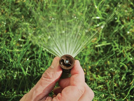 Einwinterung von Bewässerungsanlagen (November)