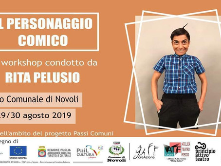 "Workshop ""il personaggio comico"" con Rita Pelusio"