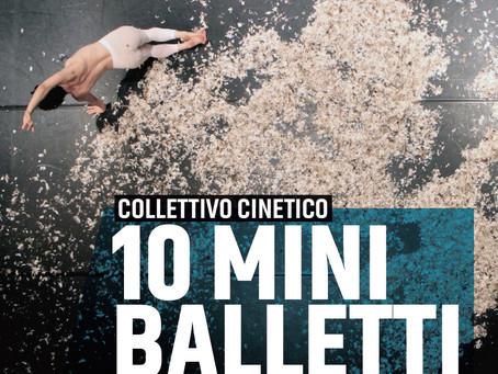 COLLETTIVO CINETICO con 10 mini balletti - sabato 3 marzo