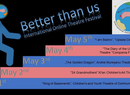 "Diario di un brutto anatroccolo in Russia al festival online ""Better than us"""