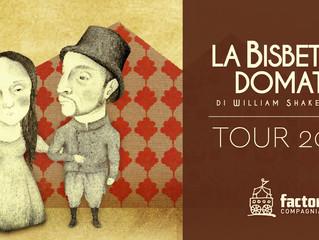 LA BISBETICA DOMATA TOUR 2018 Toscana, Emilia Romagna, Umbria, Puglia, Basilicata