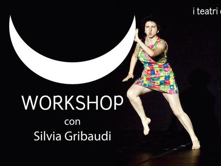 #oggièilmiogiorno WORKSHOP CON SILVIA GRIBAUDI per i teatri della cupa