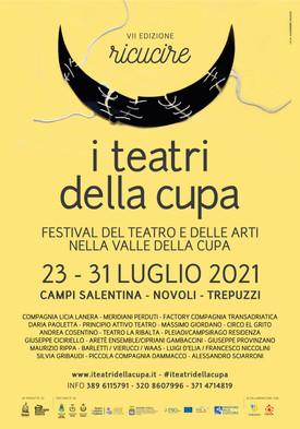 I TEATRI DELLA CUPA Festival - settima edizione 23-31 luglio 2021