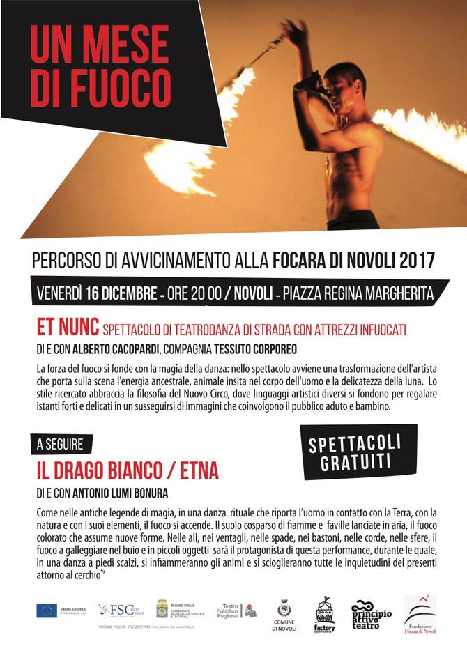 inaugurazione del Mese del fuoco con Il Drago bianco e Alberto Cacopardi