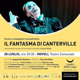 IL FANTASMA DI CANTERVILLE per i teatri della cupa - 28 luglio