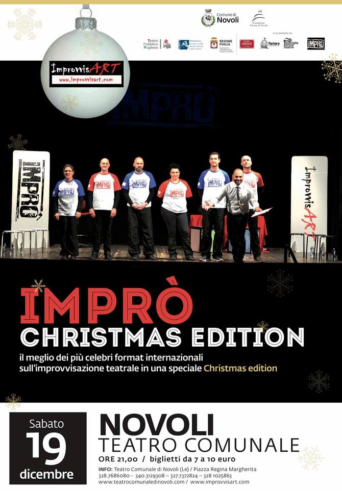 IMPRO' (Xmas edition) spettacolo d'improvvisazione teatrale