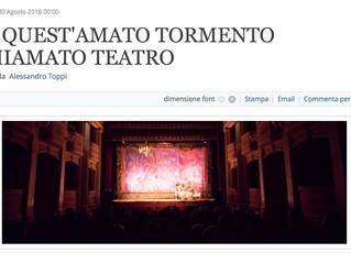 Il Misantropo visto da Alessandro Toppi su pickwick.it - DI QUEST'AMATO TORMENTO CHIAMATO TEATRO