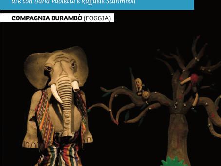 L'ELEFANTE SMEMORATO E LA PAPERA FICCANASO ritornano a Novoli  Burambò
