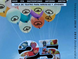 DIARIO DI UN BRUTTO ANATROCCOLO ritorna in Spagna nei Paesi Baschi a Vitoria - Gasteiz