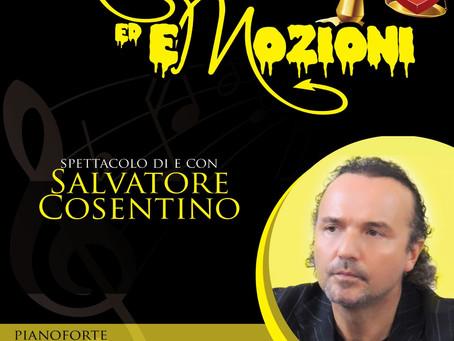 MOZIONI ED EMOZIONI in scena il magistrato attore Salvatore Cosentino sabato 15 febbraio ore 21