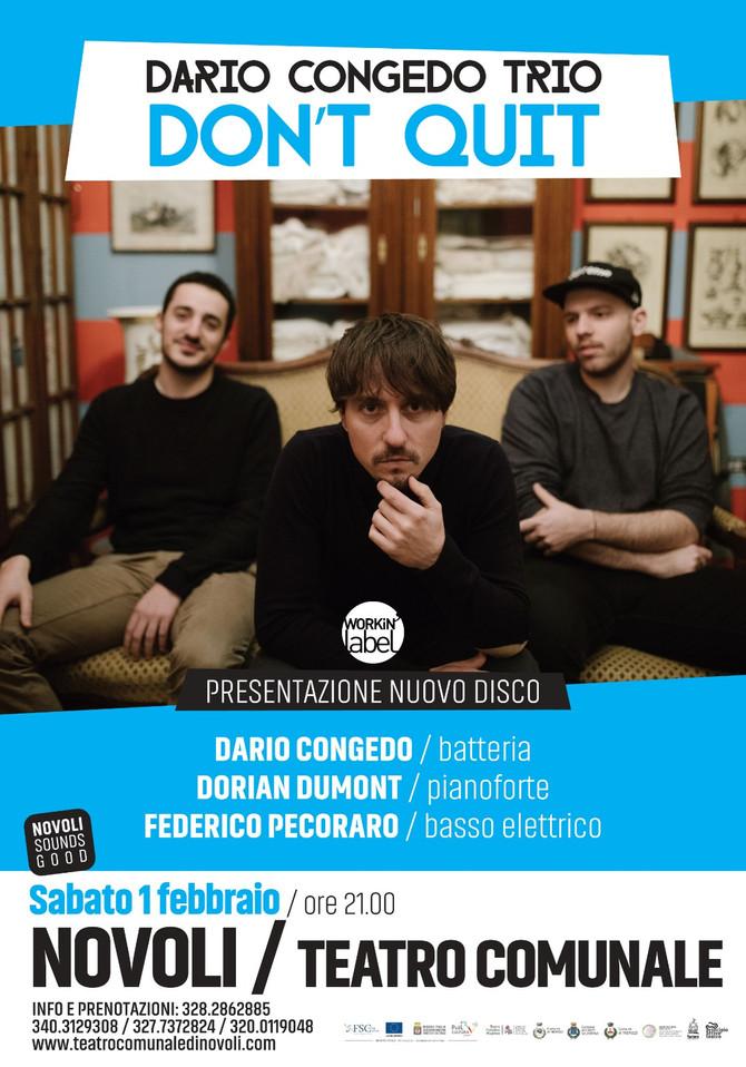 DARIO CONGEDO TRIO in concerto sabato 1 febbraio