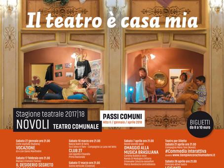 PASSI COMUNI atto II  -  il programma di gennaio-aprile 2018