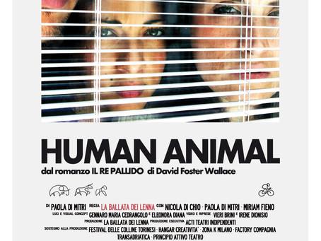 HUMAN ANIMAL ritorna a Novoli La Ballata dei Lenna sabato 11 novembre