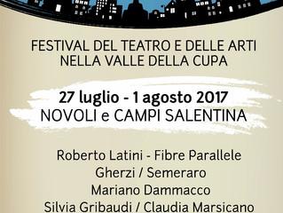 I TEATRI DELLA CUPA la terza edizione del Festival