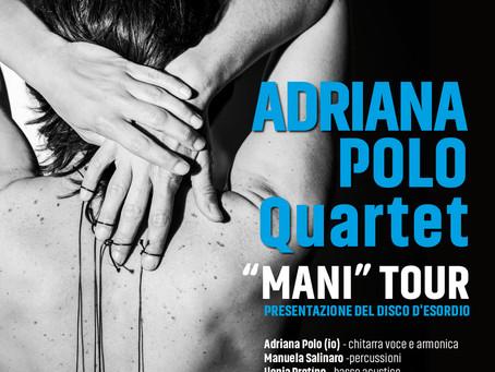 ADRIANA POLO quartet in concerto