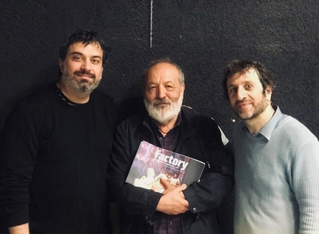 MATTIA E IL NONNO VINCE L'EOLO AWARD COME MIGLIOR SPETTACOLO DELL'ANNO