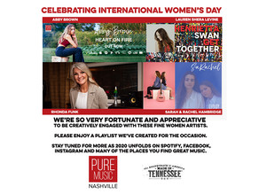 IWD Playlist featuring PMN Artists