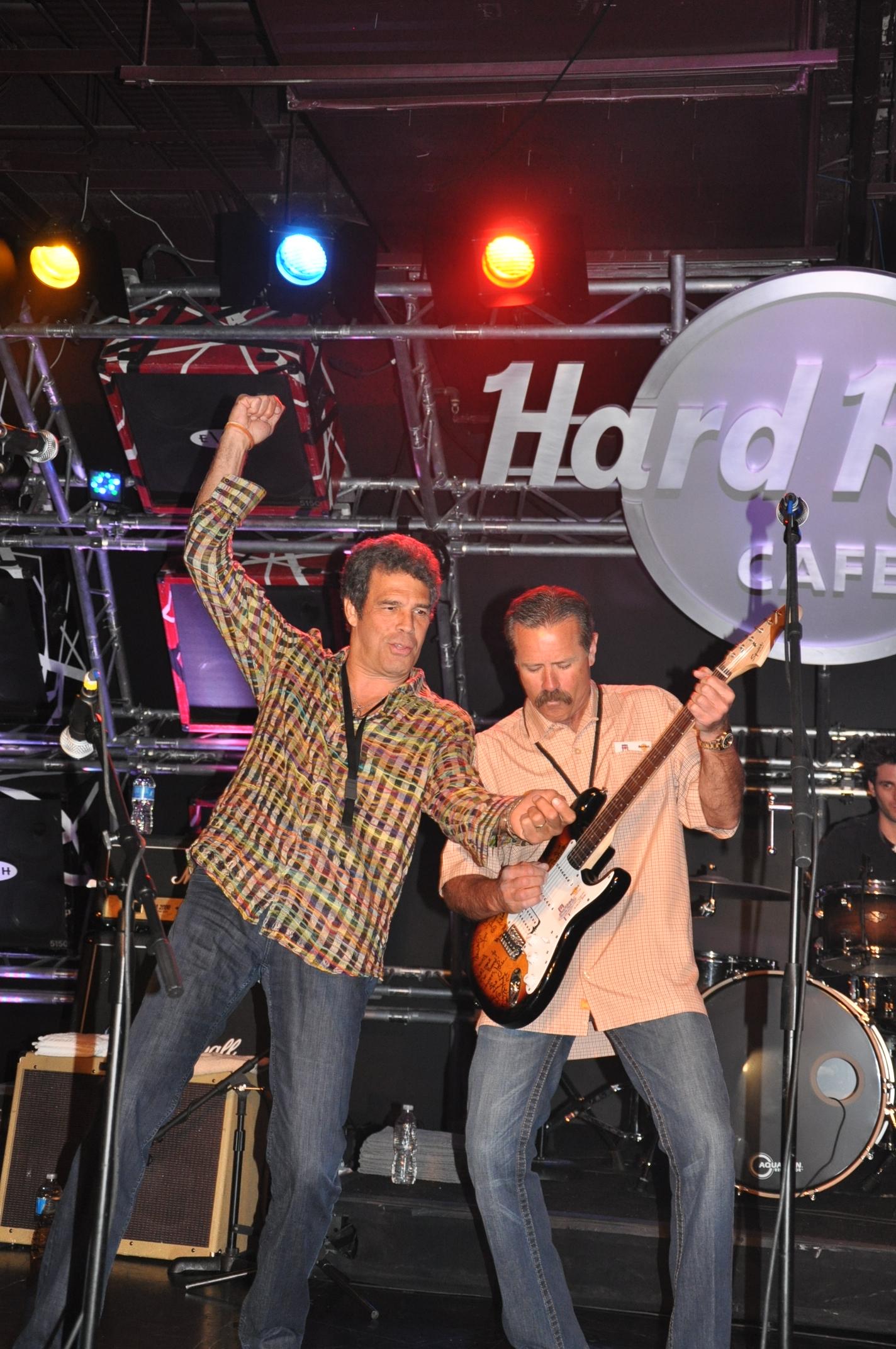 Sponsors rock! Literally!