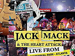 Jack Mack and the Heart Attack Release Live from Centennial Park, Atlanta 1996