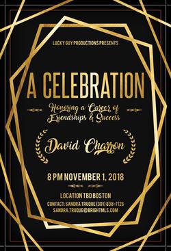 EVENT HONORING DAVID CHARRON OF BRIGHT M