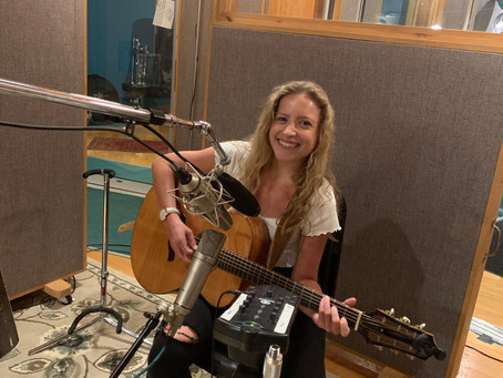 """Abby Brown Returns to Studio to Cut UnPlugged Version of """"Love, Release Me"""""""