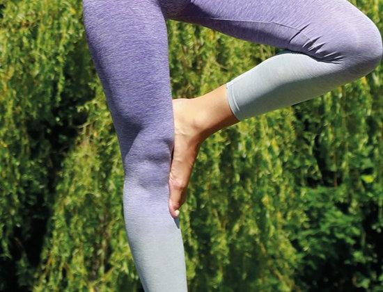 Purple Zen Seamless Leggings