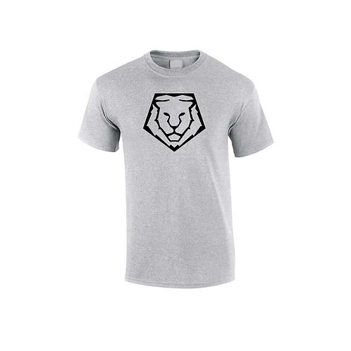Lion Head Tee | Grey