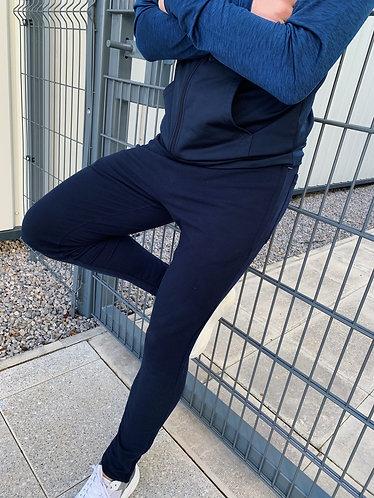 Tapered Jog Pants - Navy