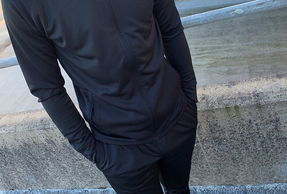 Black Agility Tracksuit Jacket