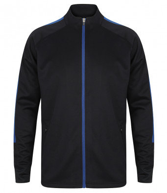 Agility Contrast Full Zip-up - Navy