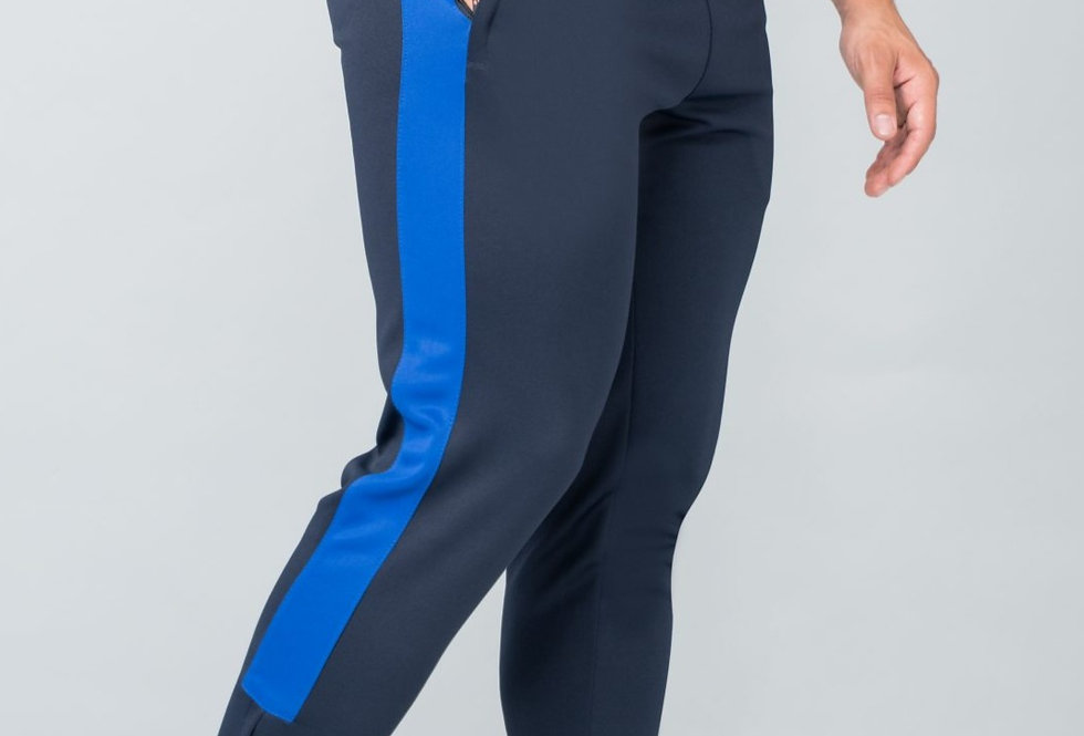 Navy Contrast Agility Tracksuit Pants