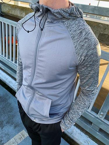 Dynamic Zip-up - Grey