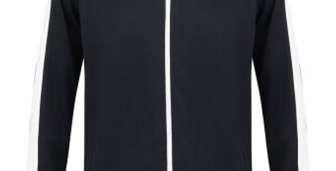 Navy Contrast Agility Tracksuit Jacket