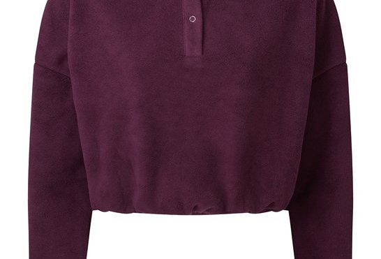 Mulberry Cropped Jumper