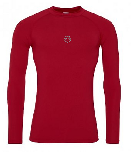 Ignite Baselayer Long Sleeve - Red