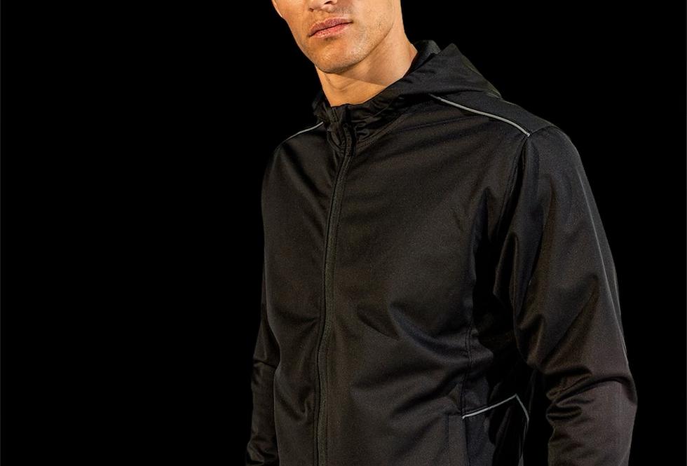 Black Lightweight Soft-shell Jacket