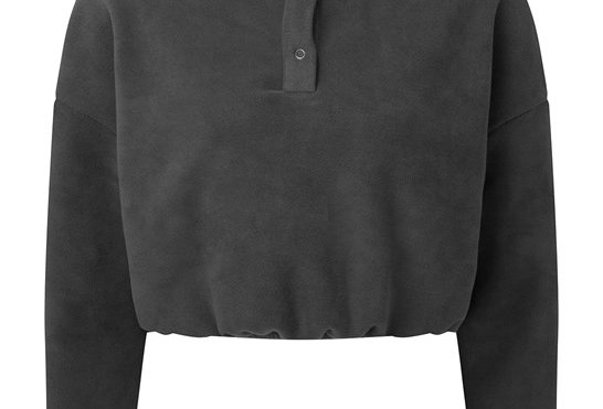 Charcoal Cropped Jumper