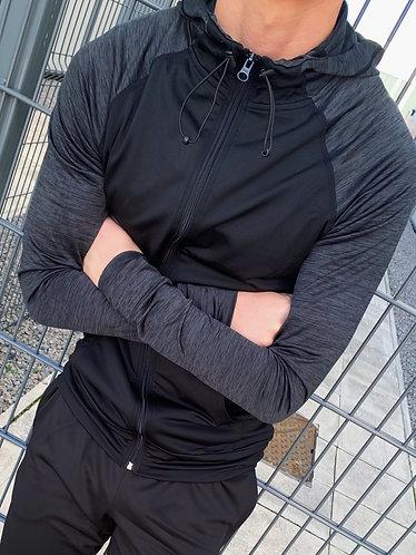 Dynamic Zip-up - Black